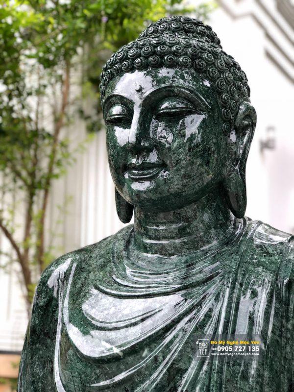 Tượng phật Bổn Sư đá ngọc Ấn Độ