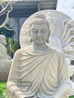 Tượng Phật Bổn Sư Thích Ca bằng đá xanh